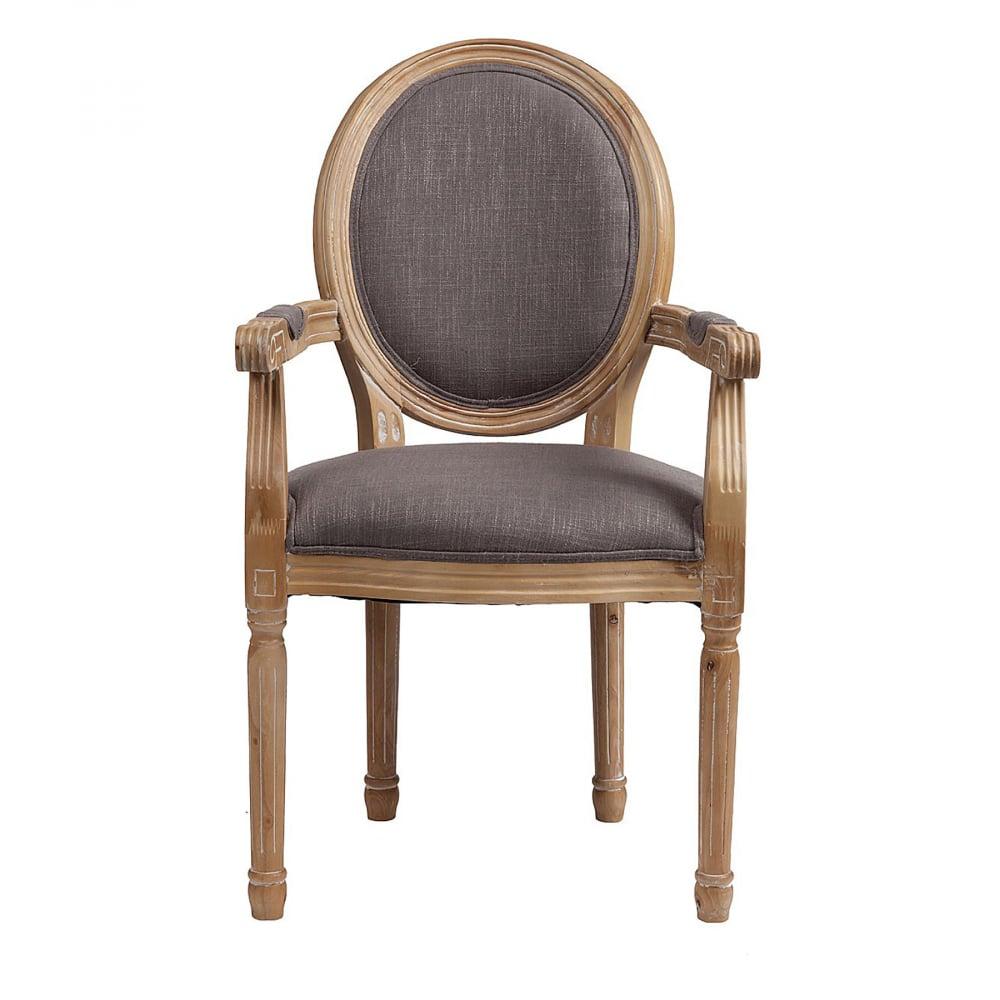 Кресло Pollina Светло-серый Хлопок от DG-home