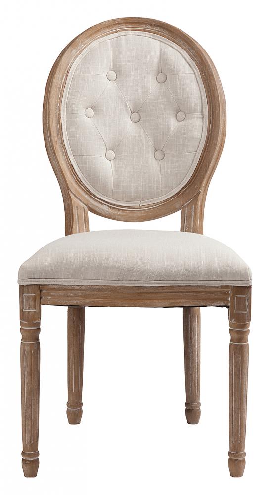 Стул Maurice Белый Лен DG-HOME Стул Maurice — модель без подлокотников, в  классическом стиле, предназначена для столовой  или кабинета. Стул на деревянном каркасе  с округлой спинкой. Возможны различные  варианты отделки и обивки (хлопок, лен).  Купите стулья Maurice для всей семьи — они  непременно понравятся всем.