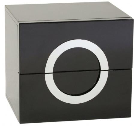 Купить Тумбочка Stella Черный Лак в интернет магазине дизайнерской мебели и аксессуаров для дома и дачи