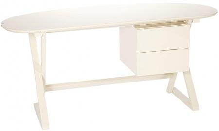Купить Рабочий стол Amber Белый Лак в интернет магазине дизайнерской мебели и аксессуаров для дома и дачи