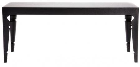 Купить Обеденный стол Ferretta Черный в интернет магазине дизайнерской мебели и аксессуаров для дома и дачи