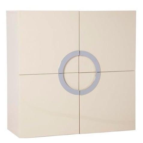 Комод Lotus Белый Лак DG-HOME Одновременно вместительный и стильный,  комод Lotus будет отличным дополнением для  интерьера в стиле хай-тек, особенно хорошо  он будет смотреться в сочетании с бытовой  техникой: большим плазменным телевизором,  аудиосистемой, колонками. В этом комоде  — четыре отделения. Он выполнен из дерева  белого цвета, имеет квадратный фасад с четырьмя  дверцами, а посередине расположены ручки  из хромированного металла, соединенные  в круг. Такое сочетание форм и цветов смотрится  одновременно просто, и в то же время необычно,  привлекает внимание.