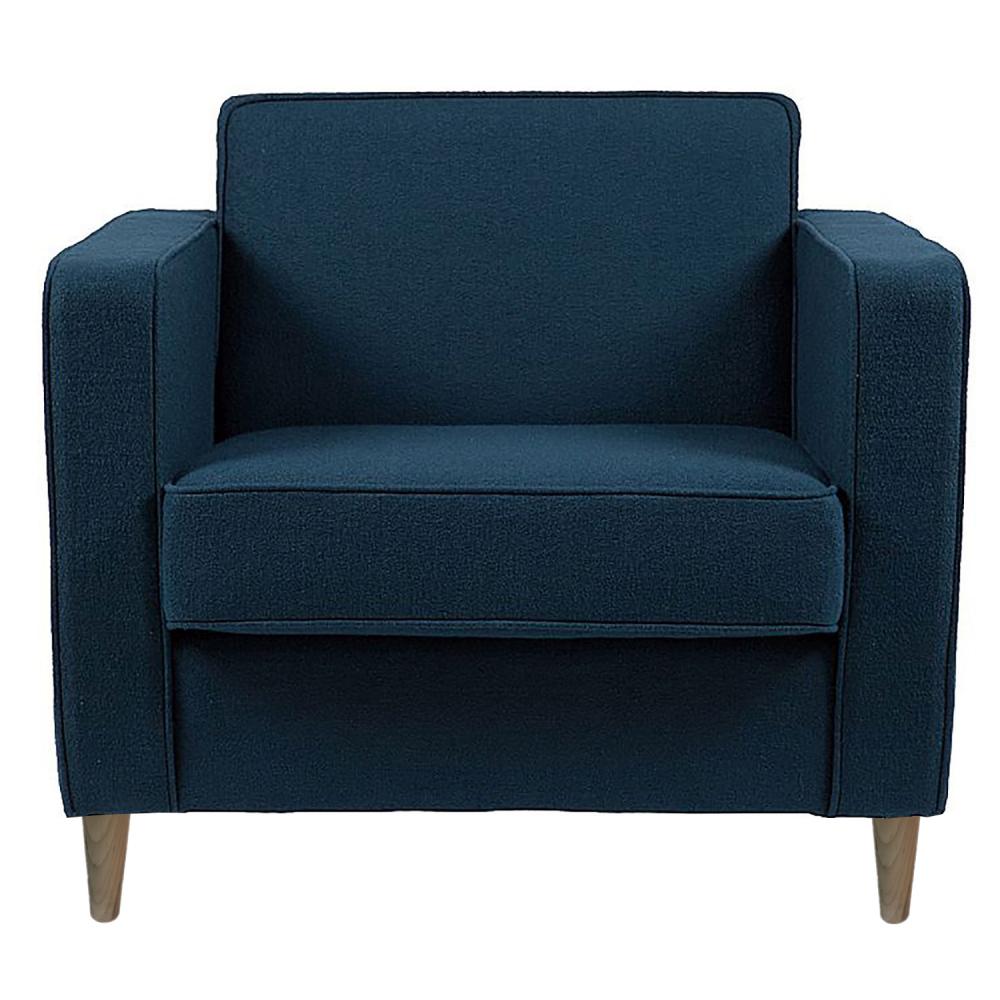 Кресло George Сине-серая ШерстьКресла<br>Офисная мебель, созданная стараниями дизайнера <br>Антонио Читтерио (Antonio Citterio), становится <br>необычной и украшает собой скучный интерьер <br>рабочего кабинета. Строгий и доведенный <br>до совершенства, лаконичный образ дизайнерского <br>кресла для офиса George (Джордж) — достойное <br>воплощение классики в современном прочтении. <br>Невероятно удобное и комфортабельное, благодаря <br>широкому сидению и наличию подлокотников <br>даже длительная монотонная работа не вызовет <br>усталости. Изготовленное на деревянном <br>каркасе с обивкой из шерстяной ткани потрясающего <br>качества, на основании из нержавеющей стали, <br>превосходная реплика дизайнерского кресла <br>для офиса Джордж — пример безупречного <br>стиля, благодаря своей универсальности <br>и лаконичности кресло будет органично смотреться <br>в интерьере любого помещения. В нашем магазине <br>офисное кресло Джордж представлено в нескольких <br>цветах — выберите, что по душе.<br><br>Цвет: Синий<br>Материал: Ткань, Поролон<br>Вес кг: 34<br>Длина см: 82<br>Ширина см: 77<br>Высота см: 84