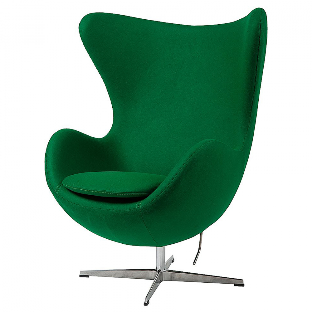 Кресло Egg Chair Зеленый Кашемир, DG-F-ACH324-23 от DG-home