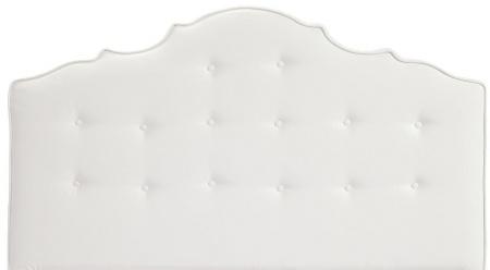 Кровать Palace 160х200 Белая Экокожа Р