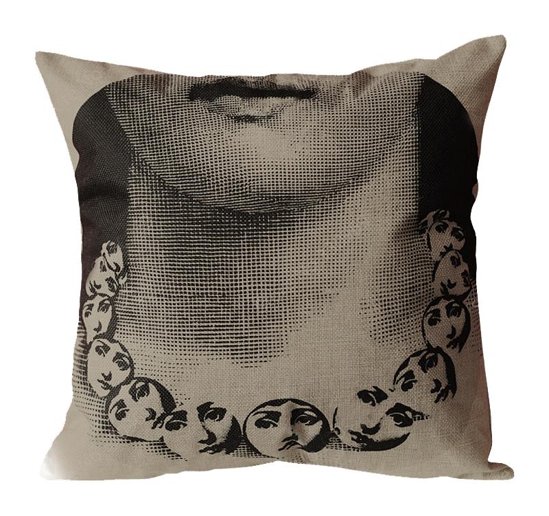 Подушка с портретом Лины Пьеро Форназетти Necklace