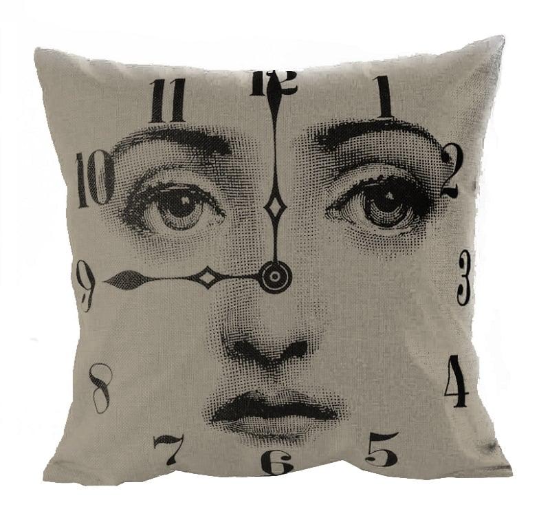 Подушка с портретом Лины Пьеро Форназетти Clocl