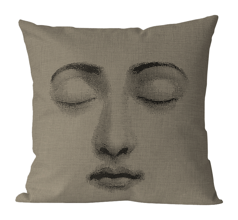 Подушка с портретом Лины Пьеро Форназетти Dream