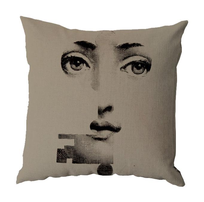 Фото Подушка с портретом Лины Пьеро Форназетти  Key. Купить с доставкой