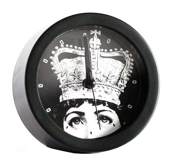 Купить Будильник с портретом Лины Пьеро Форназетти Crown в интернет магазине дизайнерской мебели и аксессуаров для дома и дачи