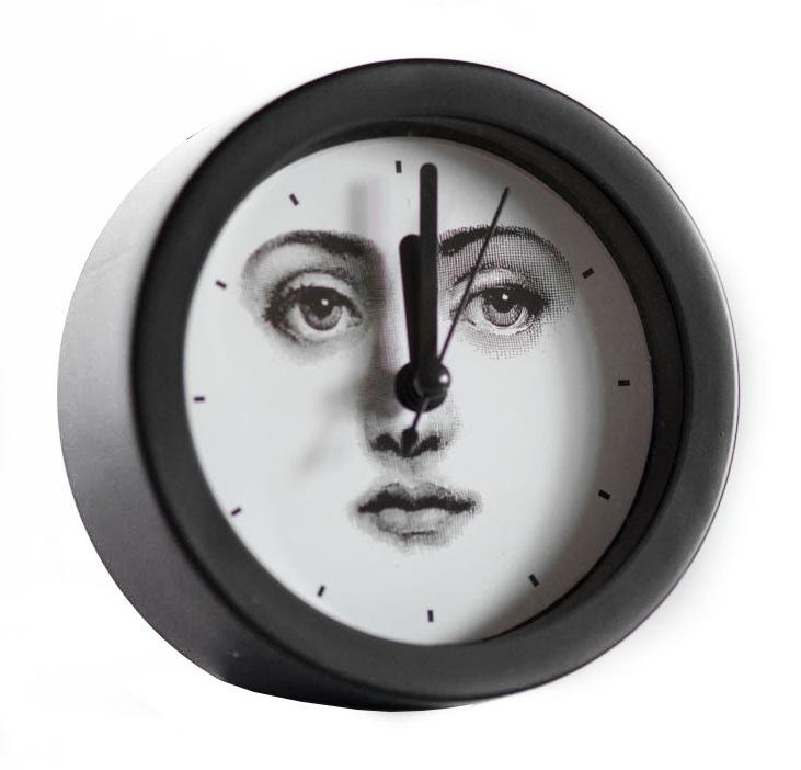 Купить Будильник с портретом Лины Пьеро Форназетти Simplicity в интернет магазине дизайнерской мебели и аксессуаров для дома и дачи