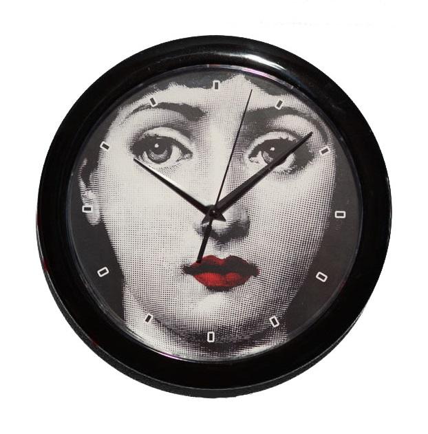 Купить Настенные часы с портретом Лины Пьеро Форназетти Brightness в интернет магазине дизайнерской мебели и аксессуаров для дома и дачи