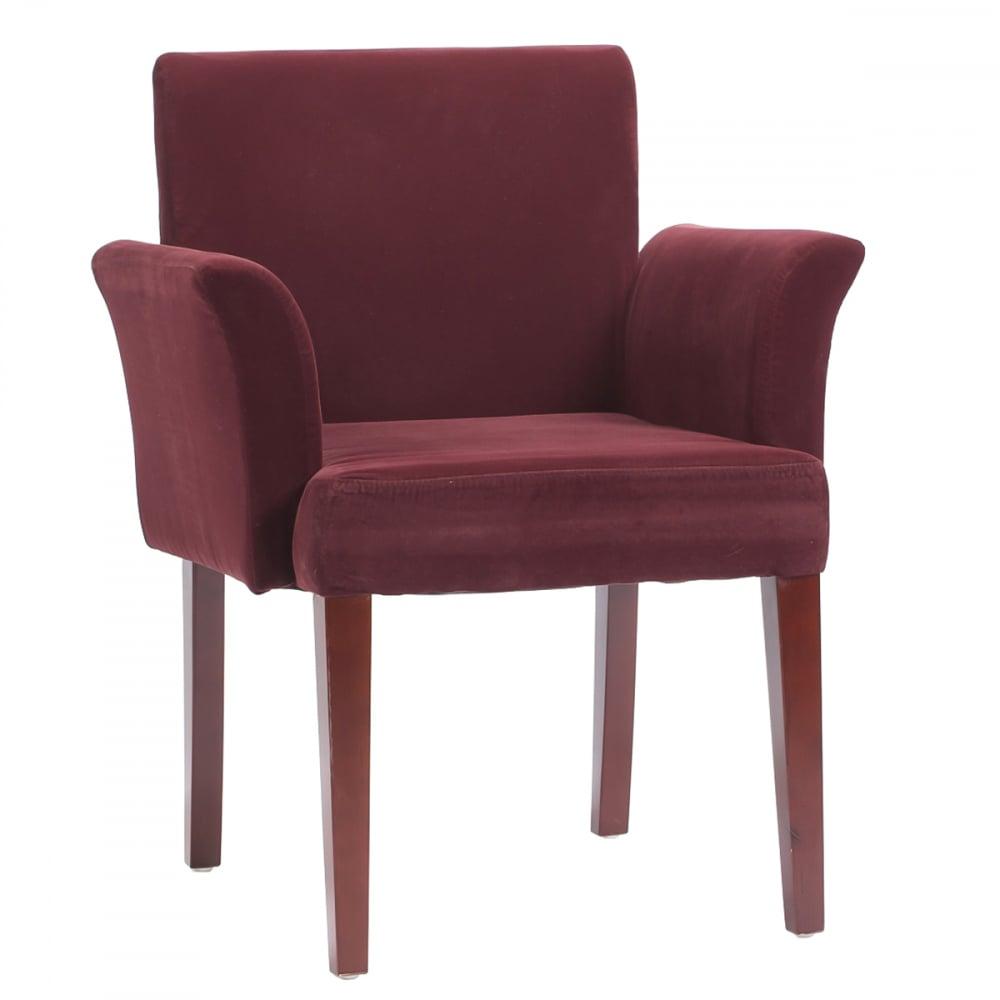 Кресло Jonathan Бордовый Велюр, DG-F-CH523