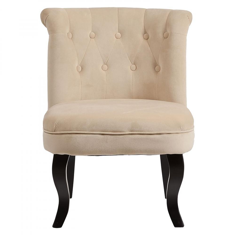 Кресло Dawson Бежевый ВелюрКресла<br>Кресло Dawson — неимоверно комфортное, удобное <br>и красивое — выглядит так, словно вам его <br>только что доставили из роскошного дома <br>аристократической Франции. Богатая обивка, <br>благородная форма деревянного каркаса <br>самого предмета мебели, изящные ножки, нежный <br>цвет — все говорит о его изысканности и <br>шарме. Такое кресло непременно украсит <br>ваш дом, добавив не только очарование и <br>лоск, но и уют и тепло.<br><br>Цвет: Бежевый<br>Материал: Велюр, Дерево<br>Вес кг: 8,5<br>Длина см: 50<br>Ширина см: 50<br>Высота см: 73