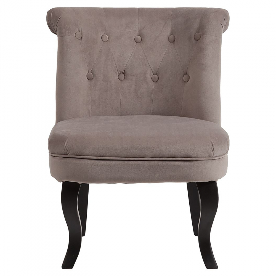 Кресло Dawson Бежево-коричневый Велюр
