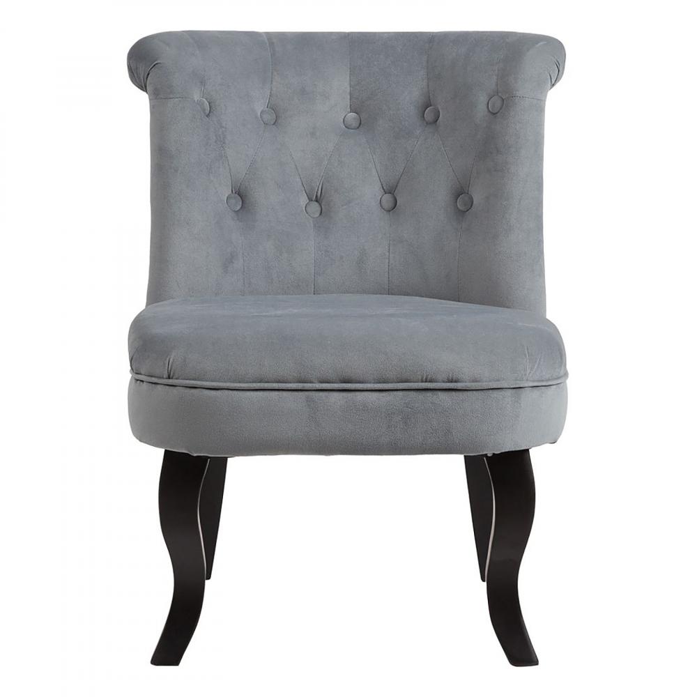 Кресло Dawson Серо-синий Велюр, DG-F-ACH492-3