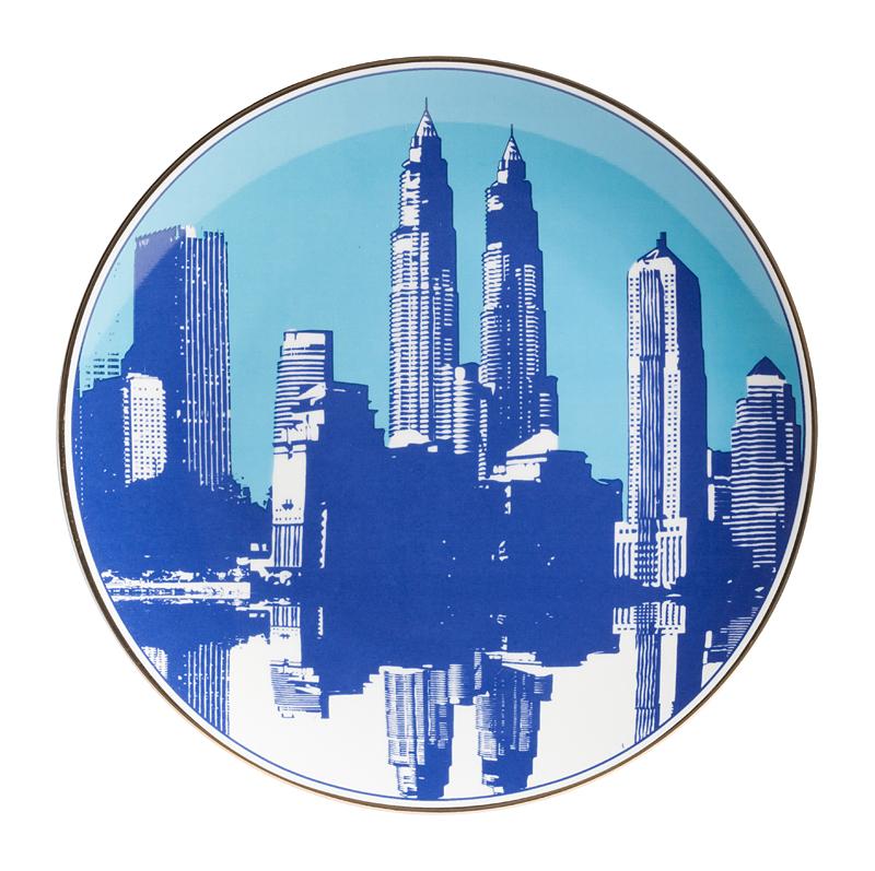 Купить Тарелка City Малая в интернет магазине дизайнерской мебели и аксессуаров для дома и дачи