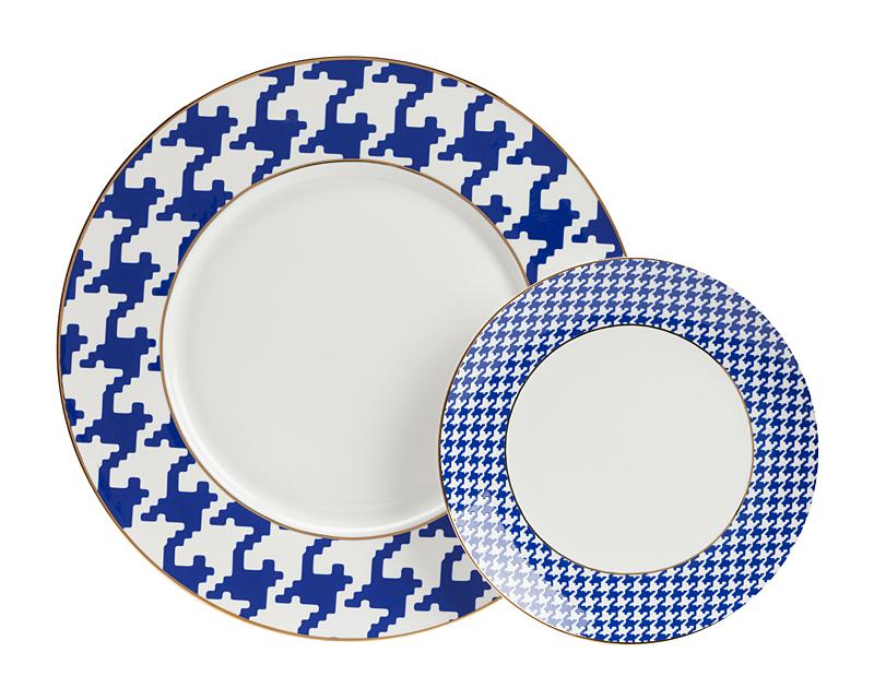 Купить Комплект тарелок Fecho в интернет магазине дизайнерской мебели и аксессуаров для дома и дачи