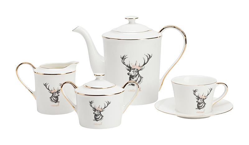 Купить Чайный сервиз Tisar в интернет магазине дизайнерской мебели и аксессуаров для дома и дачи