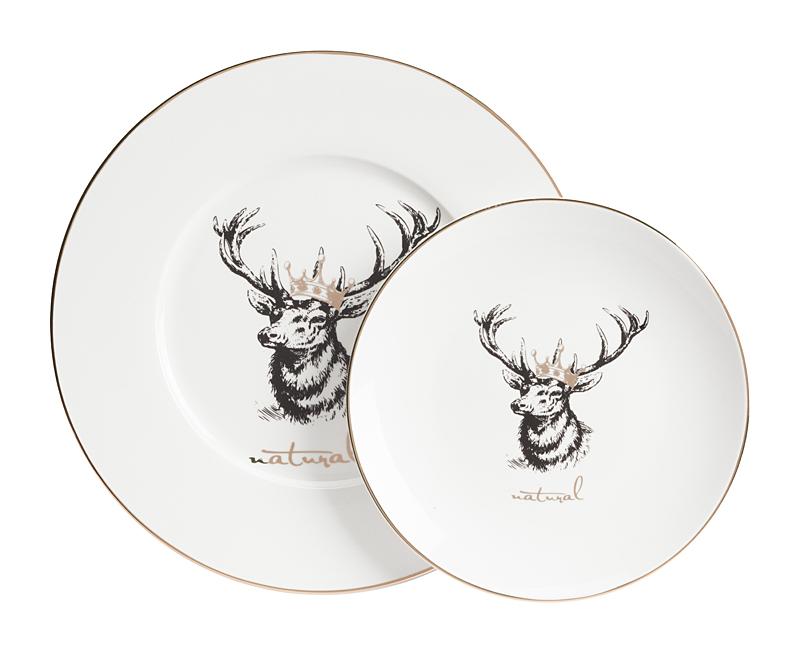 Купить Комплект тарелок Tisar в интернет магазине дизайнерской мебели и аксессуаров для дома и дачи