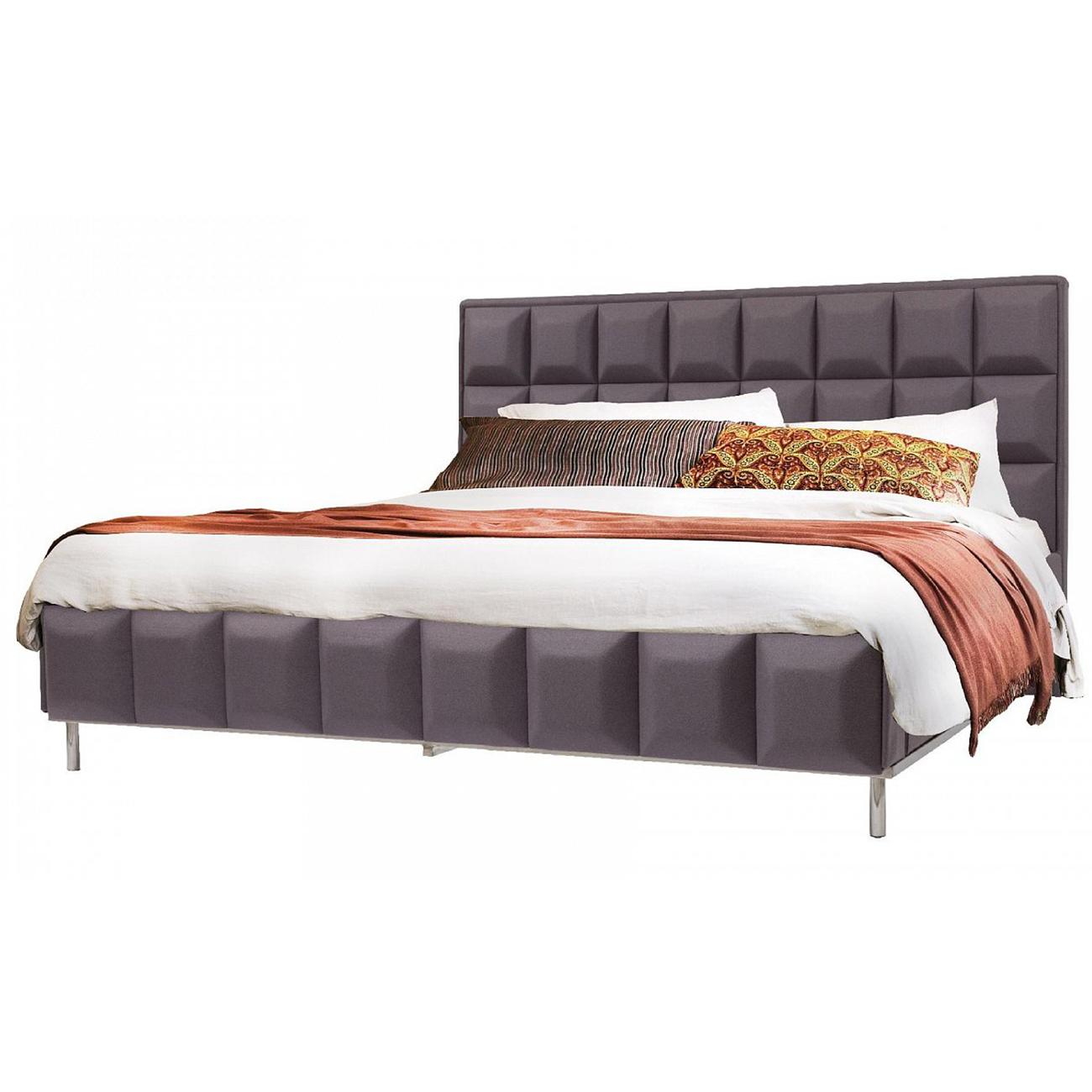 Купить Кровать Barrywhite 180х200 Фиолетовый Кашемир в интернет магазине дизайнерской мебели и аксессуаров для дома и дачи