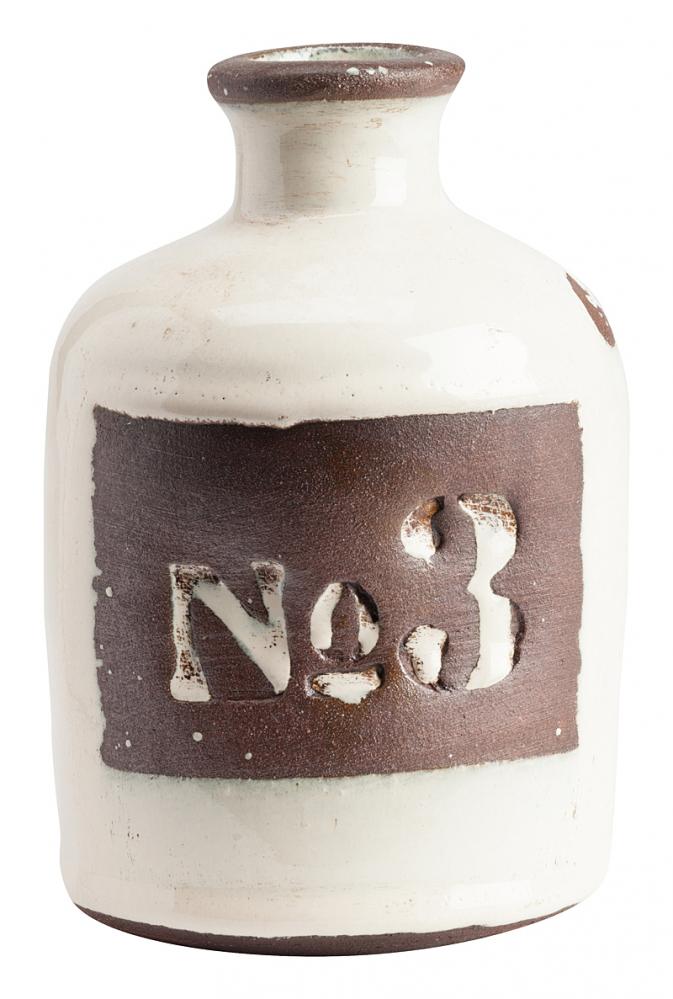 Декоративная ваза Terra Cotta Молочная