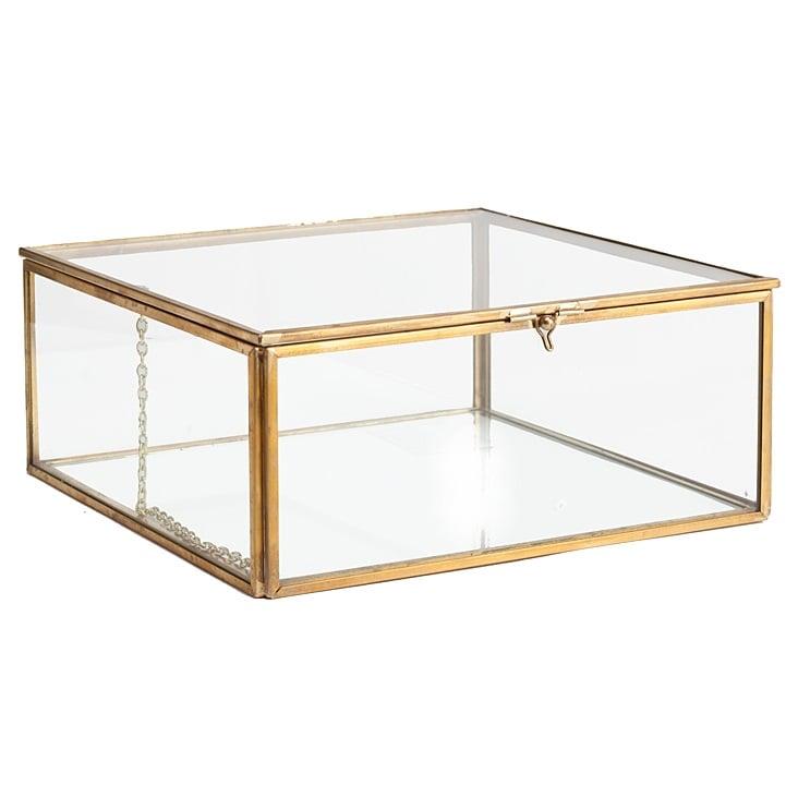 Купить Стеклянная шкатулка Belle Маленький в интернет магазине дизайнерской мебели и аксессуаров для дома и дачи