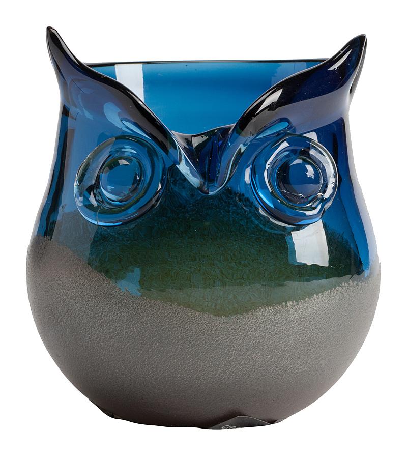 Декоративная ваза Blue Owl