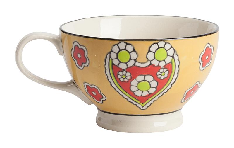 Купить Чашка, раскрашенная вручную Nolty в интернет магазине дизайнерской мебели и аксессуаров для дома и дачи