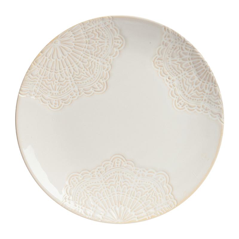 Тарелка BernootТарелки<br><br><br>Цвет: Бежевый<br>Материал: Грубая керамика<br>Вес кг: 0,5<br>Длина см: 20<br>Ширина см: 20<br>Высота см: 2,5