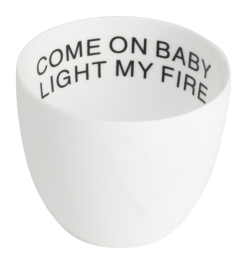 Подсвечник Come On Baby Light My Fire