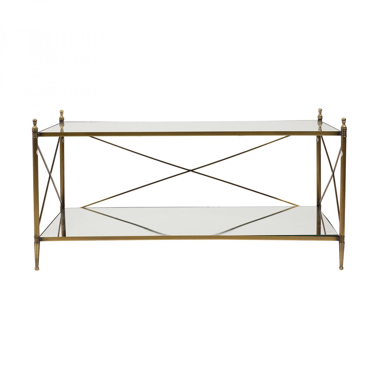 Купить Кофейный столик Cross Bar в интернет магазине дизайнерской мебели и аксессуаров для дома и дачи
