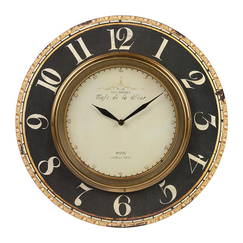 Купить Настенные часы Cafe De La Tour в интернет магазине дизайнерской мебели и аксессуаров для дома и дачи