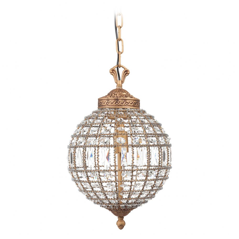 Люстра Casbah Crystal Chandelier DG-HOME Люстра Casbah Crystal была создана по мотивам  сверкающих марокканских фонарей XIX века.  Каждый сантиметр шаровидной формы люстры  украшен блистательными хрустальными кристаллами.  Чрезвычайно обольстительная люстра очаровывает  своей элегантностью и гламуром. Предназначена  для использования со светодиодными лампами,  лампы не включены в комплект