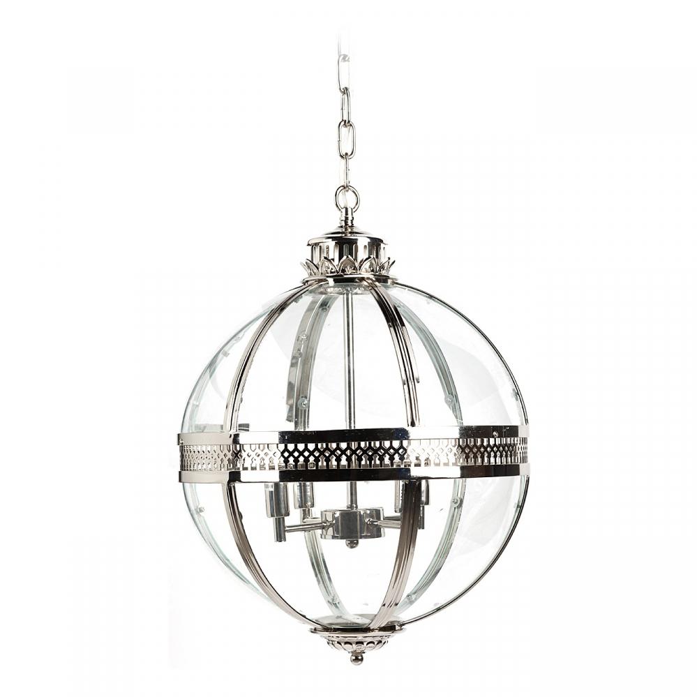 Люстра AdamsЛюстры<br>Стильная круглая люстра Adams — это совершенное <br>изящество, которое будет освещать ваш интерьер, <br>поможет создать в доме неповторимую атмосферу <br>тепла и комфорта. Люстра-шар Adams — это потрясающий, <br>стильный светильник, который прекрасно <br>подойдёт и в столовую над столом, и над кухонным <br>островом, и в кабинет, и в холл. Предназначена <br>для использования со светодиодными лампами, <br>лампы не включены в комплект.<br><br>Цвет: Серебро<br>Материал: Металл, Стекло<br>Вес кг: 4<br>Длина см: 43<br>Ширина см: 43<br>Высота см: 63