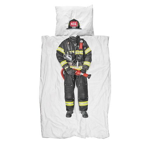 Купить Постельное белье Пожарный (150*200) в интернет магазине дизайнерской мебели и аксессуаров для дома и дачи