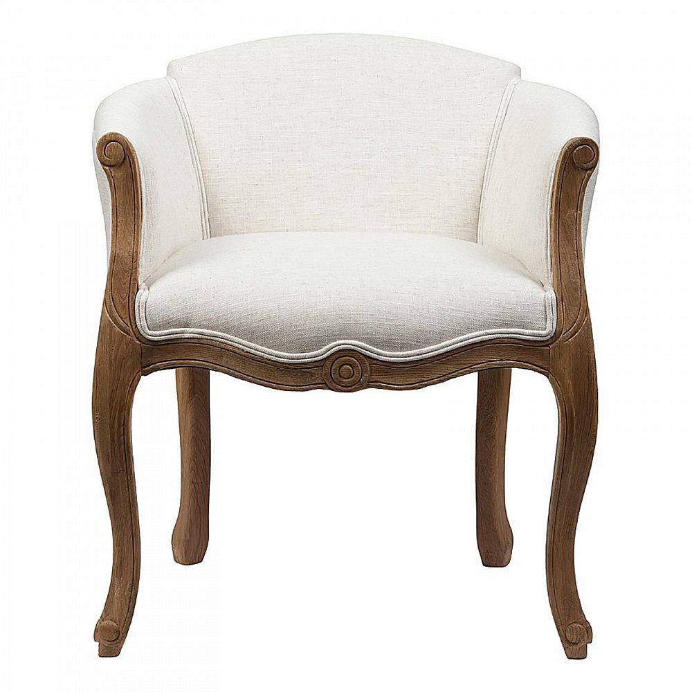Кресло Cabriole Elizabeth Белое, DG-F-ACH494-4