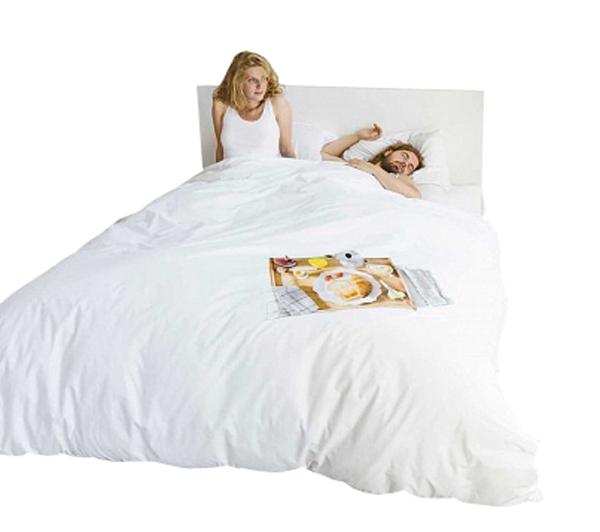 Купить Постельное белье Завтрак (200*220) в интернет магазине дизайнерской мебели и аксессуаров для дома и дачи