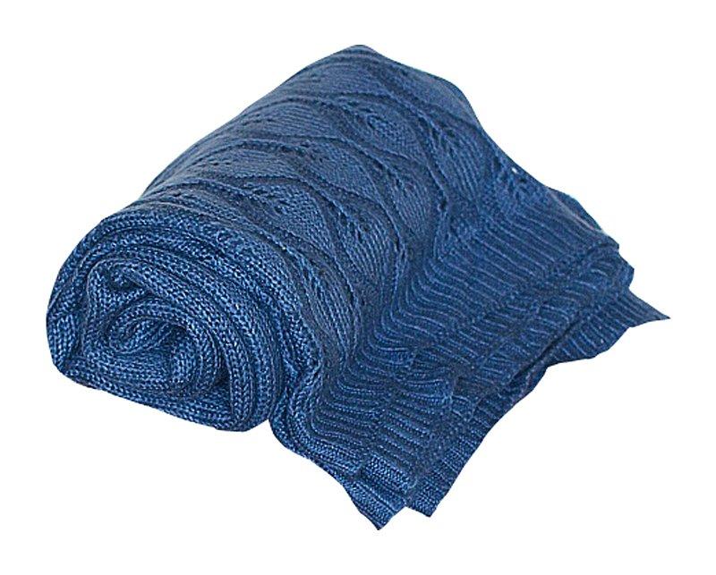 Купить Мягкий синий плед в интернет магазине дизайнерской мебели и аксессуаров для дома и дачи