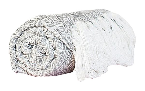Купить Нежный серый плед в интернет магазине дизайнерской мебели и аксессуаров для дома и дачи