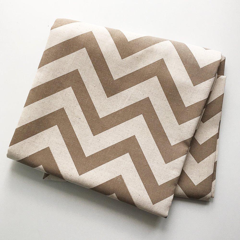 Купить Шторы в бежевый зиг-заг в интернет магазине дизайнерской мебели и аксессуаров для дома и дачи