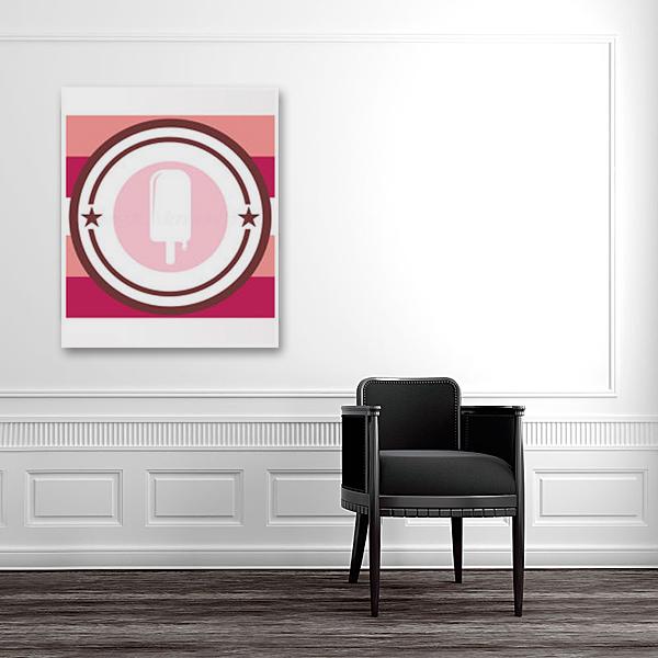 Постер Ice cream А4