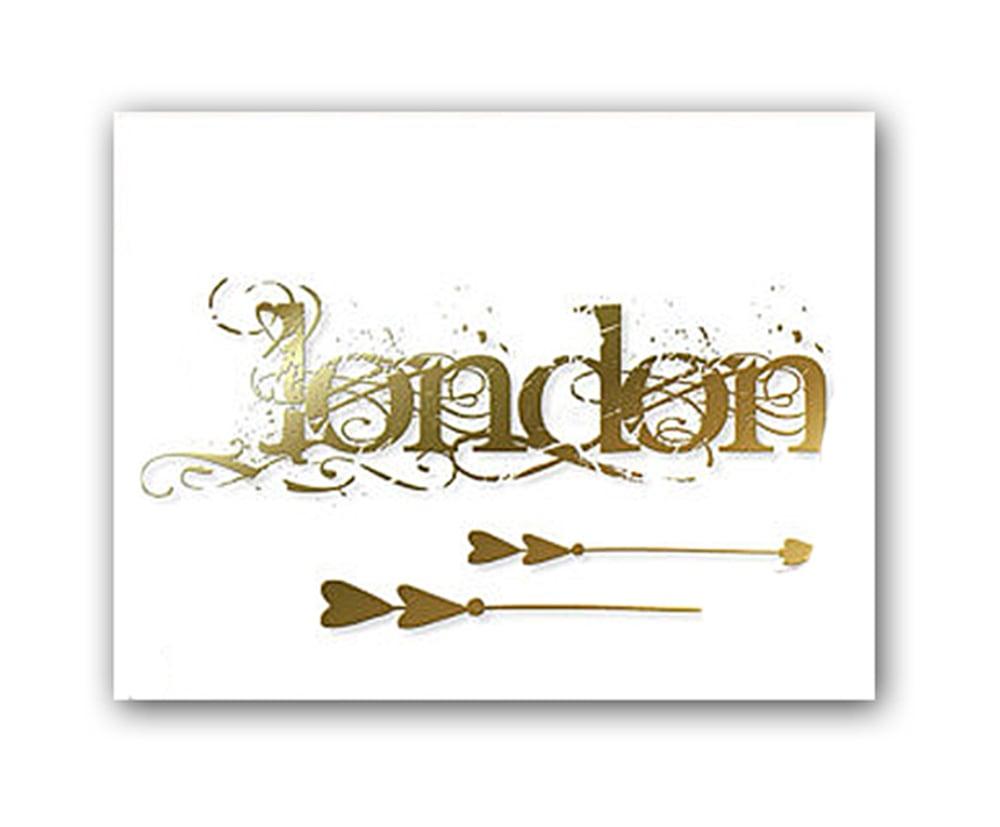 Постер London А4