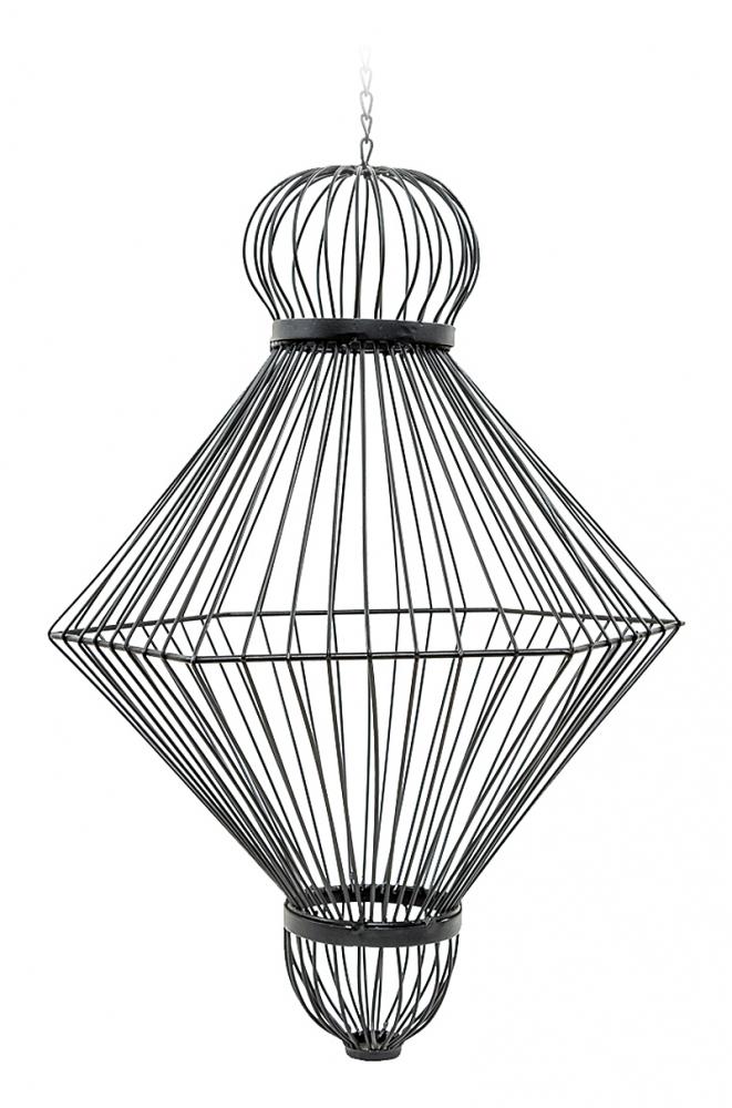 Декоративный подвесной элемент Фонарь  №3, OM-D03  Тонкие плавные линии подвесных