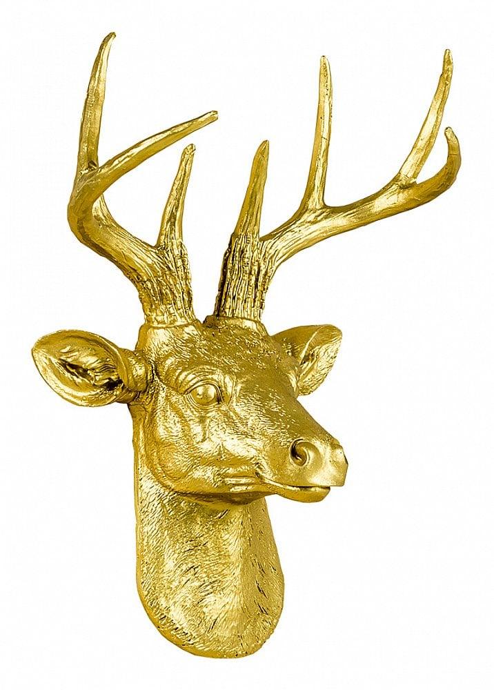 Арт-декор Благородный олень (золотой), OM-D11