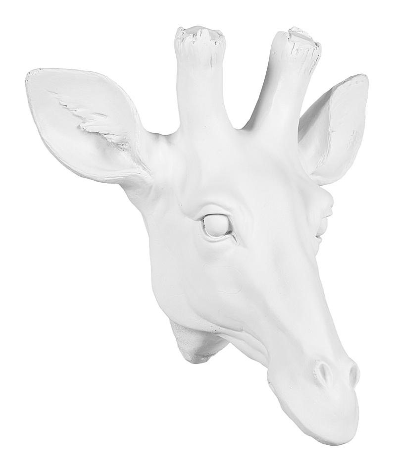 Купить Арт-декор Веселый жираф (белый) в интернет магазине дизайнерской мебели и аксессуаров для дома и дачи