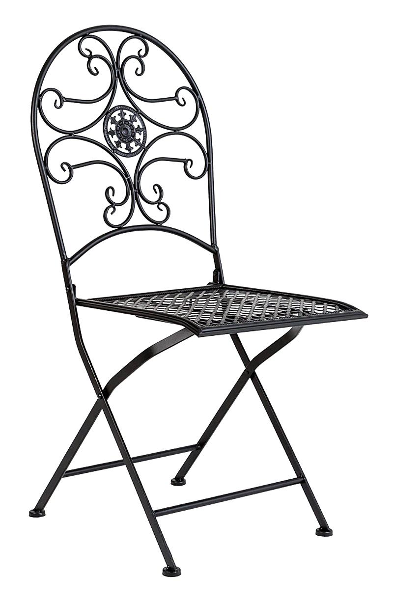 Купить Складной стул Берси (черный антик) в интернет магазине дизайнерской мебели и аксессуаров для дома и дачи