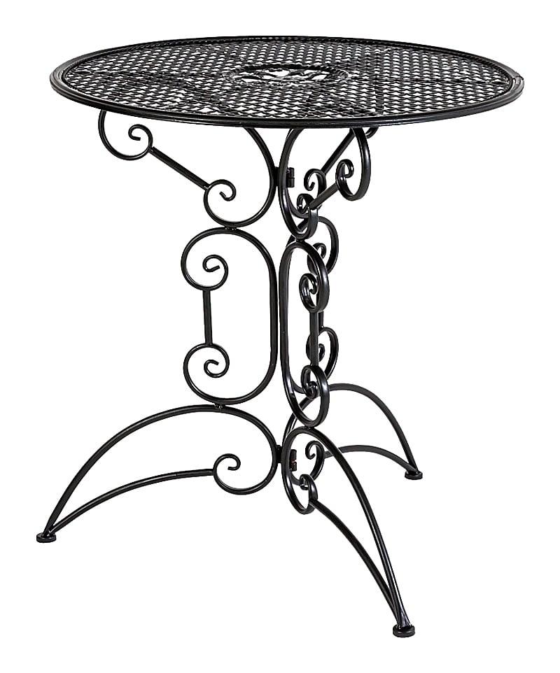 Купить Складной столик для завтрака Берси (черный антик) в интернет магазине дизайнерской мебели и аксессуаров для дома и дачи