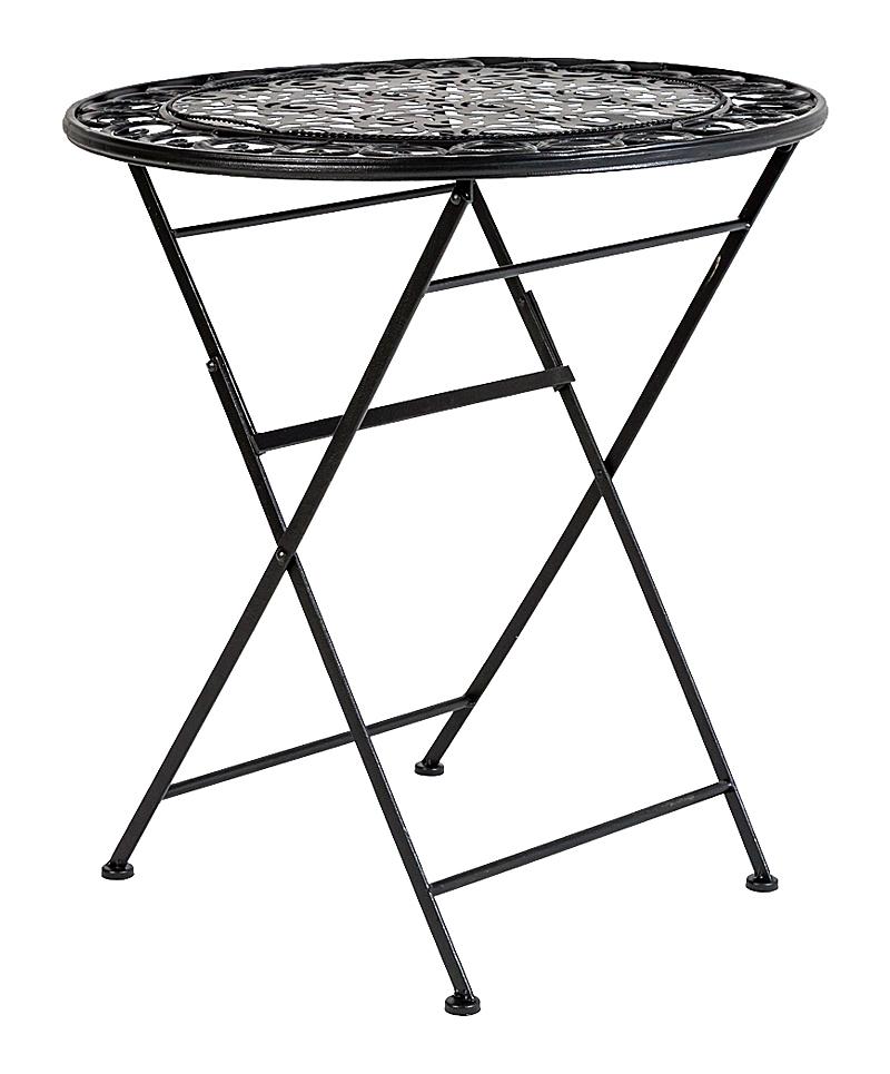 Купить Складной столик для завтрака Риволи (черный антик) в интернет магазине дизайнерской мебели и аксессуаров для дома и дачи