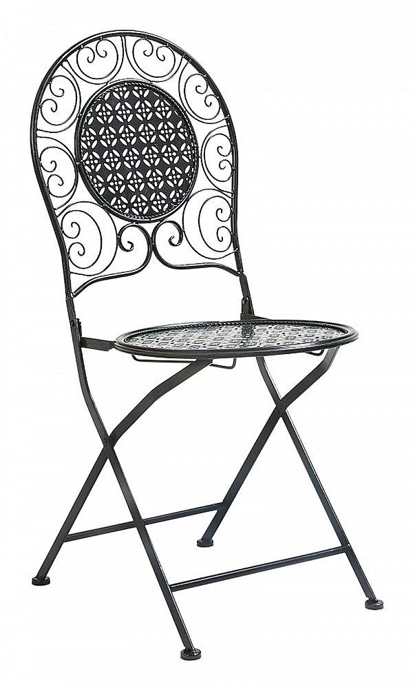 Складной стул Монсо (черный антик), OM-CH05